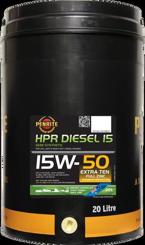 Penrite HPR Diesel 15 15W-50 20 Litres
