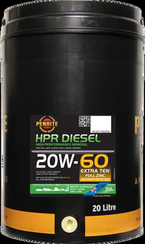 Penrite HPR Diesel 20W-60 20 Litres