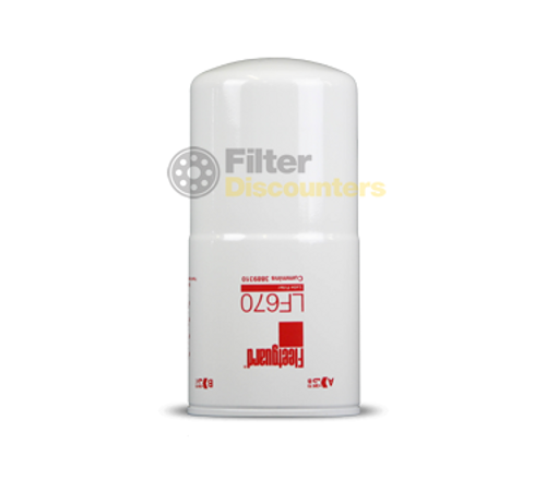 Fleetguard Filter LF670 with Filter Discounters Logo