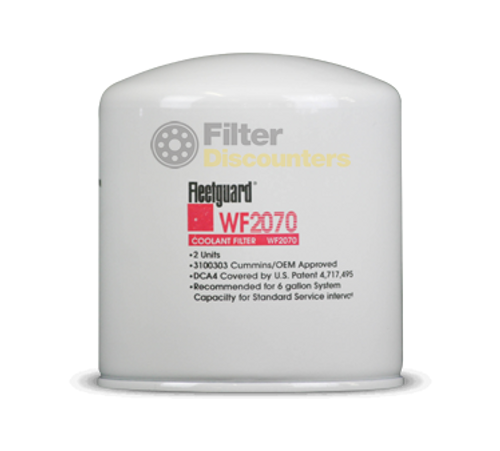 Fleetguard Filter WF2070 with Filter Discounters Logo