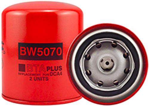 BW5070 Baldwin Coolant Spin-on with BTA PLUS Formula Replaces Cummins 3318157; Fleetguard WF2070