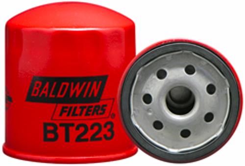 BT223 Baldwin Full-Flow Lube Spin-on Replaces Chrysler 2647020; Lister 201-55370; Onan 122-0645; Toyota 15601-13051