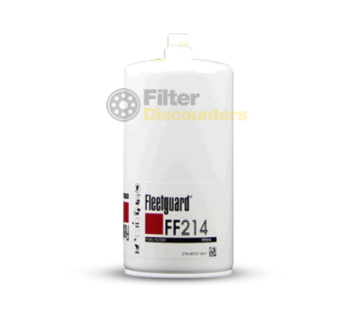 Fleetguard Fuel Filter FF214 with Filter Discounters Logo