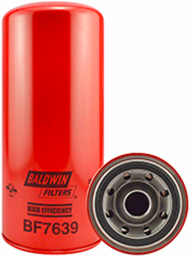BF7639 Baldwin High Efficiency Fuel Spin-on Replaces Caterpillar 1R0755