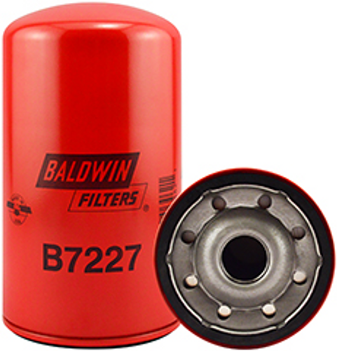 B7227 Baldwin Lube Spin-on Replaces Renault 5010240400, 5010295195, 5010295196
