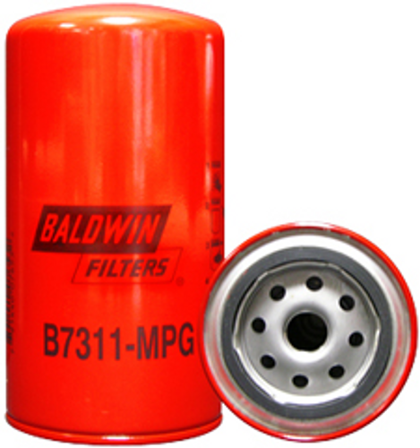 B7311-MPG Baldwin Maximum Performance Glass Lube Spin-on Replaces Carrier 30-00450-00; Fleetguard LF3947