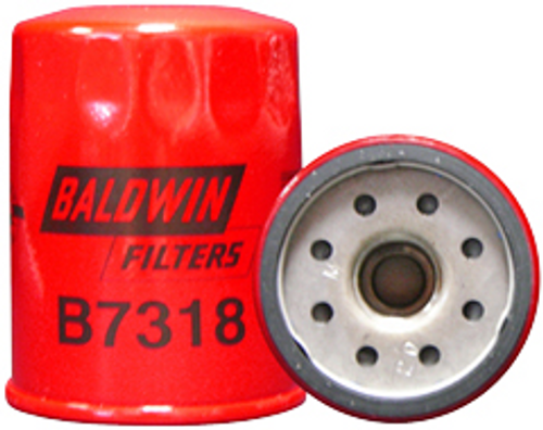 B7318 Baldwin Lube Spin-on Replaces Volvo 7410062