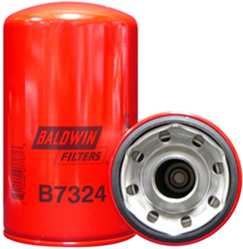 B7324 Baldwin Lube Spin-on Replaces Isuzu 87610-006, 1-87610-006-0; J.C. Bamford 02/801481, 581/18096