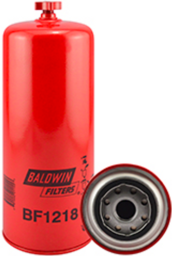 BF1218 Baldwin Fuel/Water Separator Spin-on with Drain Replaces Fleetguard FS1218