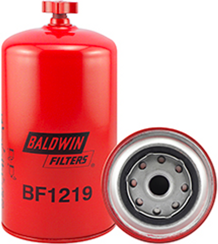 BF1219 Baldwin Fuel/Water Separator Spin-on with Drain Replaces Mack 483GB433B