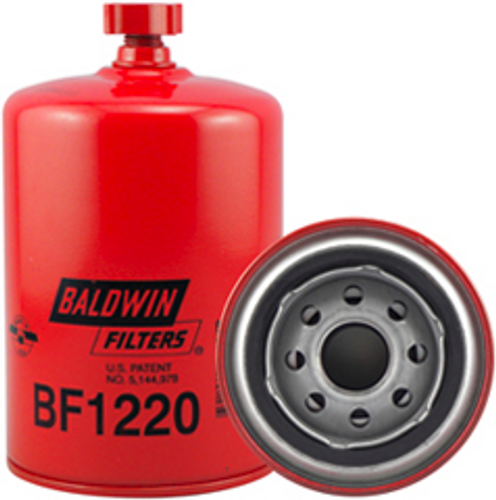 BF1220 Baldwin Fuel/Water Separator Spin-on with Drain Replaces Racor B32004,S3204