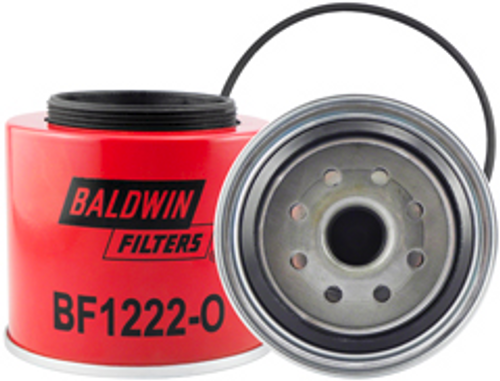 BF1222-O Baldwin Fuel/Water Separator Spin-on with Open Port for Bowl Replaces Ford F2TZ-9N-184-A;Motorcraft FD3375
