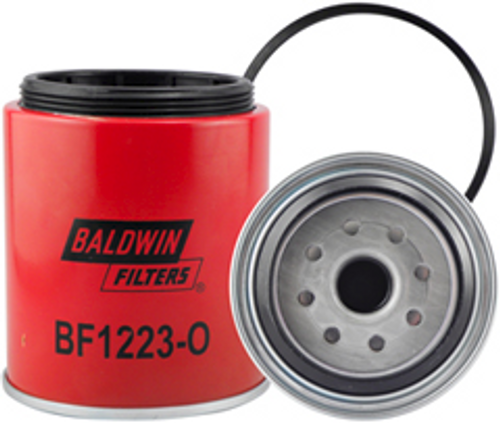 BF1223-O Baldwin Fuel/Water Separator Spin-on with Open Port for Bowl Replaces Ford F1HZ-9365-A;Motorcraft FD3368