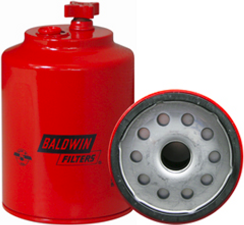 BF1223-SP Baldwin Fuel/Water Separator Spin-on with Drain and Sensor Port Replaces Carrier 30-01079;Ford F1HZ-9365-A
