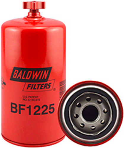 BF1225 Baldwin Fuel/Water Separator Spin-on with Drain Replaces GMC 25011691