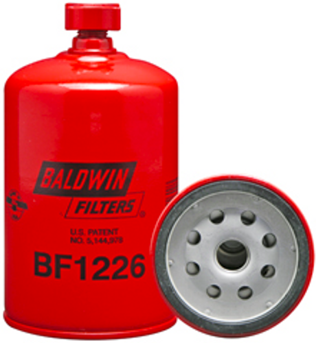 BF1226 Baldwin Fuel/Water Separator Spin-on with Drain Replaces Cummins 3903202