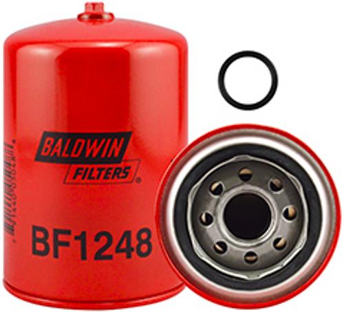 BF1248 Baldwin Fuel/Water Separator Spin-on with Drain Replaces Komatsu 600-311-8293