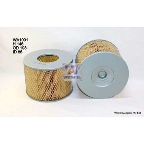 WA1001 Wesfil Air Filter; Replaces Ryco A1397