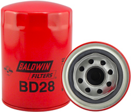 BD28 Baldwin Dual-Flow Lube Spin-on Replaces Ford E5TZ-6731-A