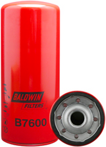 B7600 Baldwin Full-Flow Lube Spin-on Replaces Caterpillar 1R0739