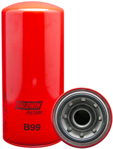 B99 Baldwin Full-Flow Lube Spin-on Replaces Caterpillar 1R0716