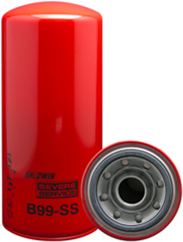 B99-SS Baldwin Severe Service Lube Spin-on Replaces Caterpillar 1R0716