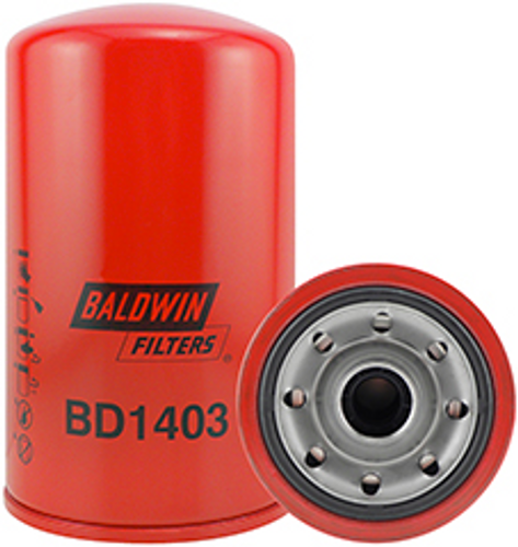 BD1403 Baldwin Dual-Flow Lube Spin-on Replaces Mitsubishi ME074013, ME074235