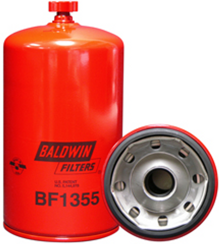 BF1355 Baldwin Fuel/Water Separator Spin-on with Drain