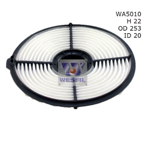 WA5010 Wesfil Air Filter; Replaces Ryco A448