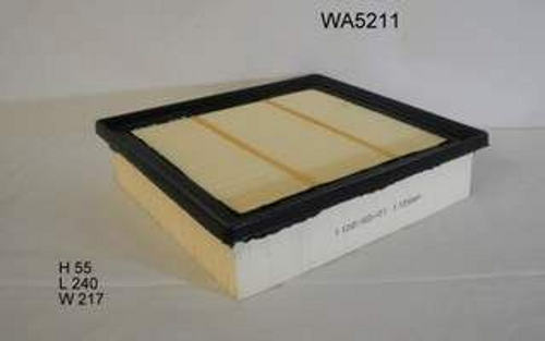 WA5211 Wesfil Air Filter; Replaces Ryco A1838