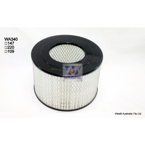 WA340P Wesfil Air Filter; Replaces Ryco A340