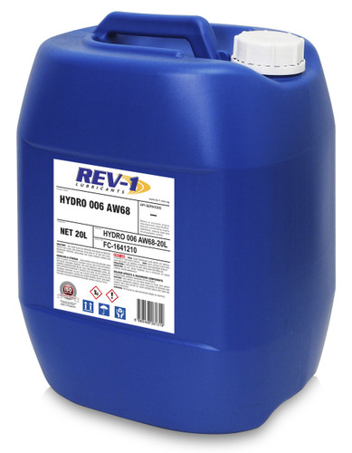 Rev-1 Hydro AW68 Hydraulic Oil 20L
