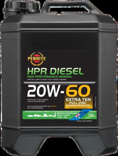 Penrite HPRD 20W-60 10 Litres