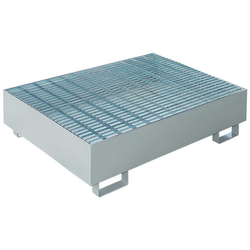 DITI16222091 STM 2 Drum Metal Spill Containment Pallet