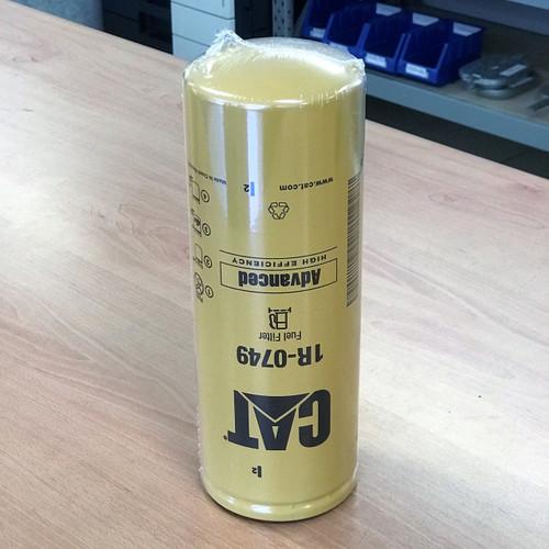 1R-0749 CAT Fuel Filter; Genuine Part; Advanced High Efficiency