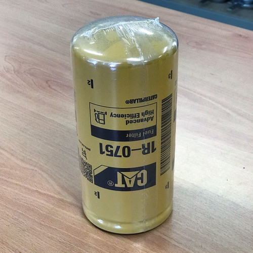 1R-0751 Cat Fuel Filter; Genuine CAT Part; Advanced High Efficiency