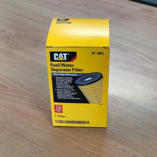 1R-1803 Cat Fuel-Water Separator, CAT Genuine Part, Ultra High Efficiency
