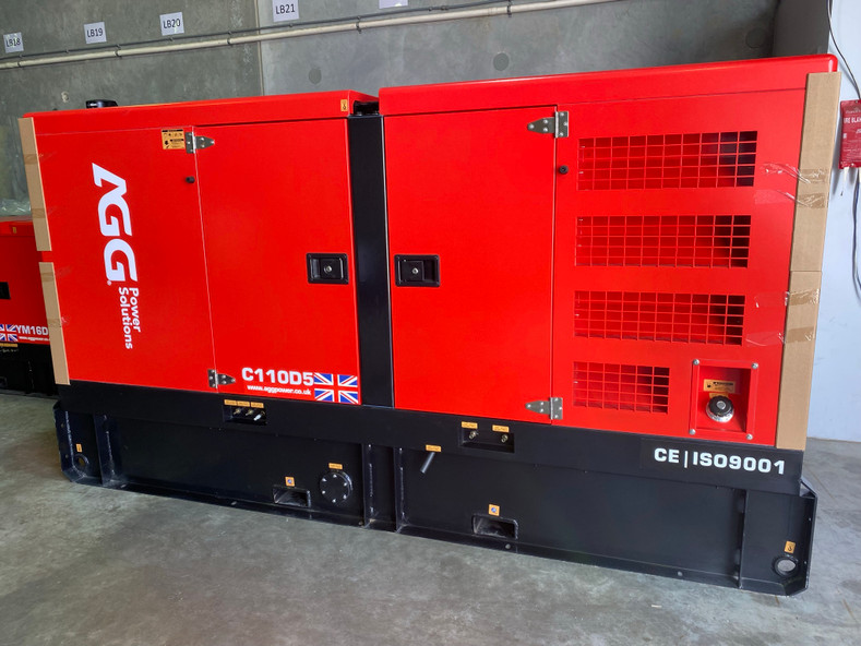 New Shipment of Silent Industrial Generators with Cummins and Yanmar Engines