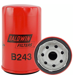 B243 Baldwin Oil Filter Replaces Ford E4FZ-6731-AB