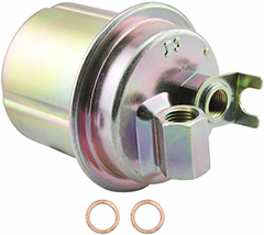 bf7721 baldwin in-line fuel filter replaces honda 16900-sd4-671