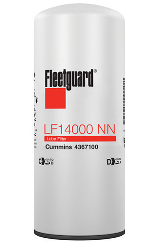 LF14000NN Fleetguard Oil Filter - replaces Cummins 4367100
