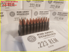 223 55 gr FMJ AR15 Red Army Standard Ammunition - 500 Rounds