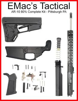 80% AR-10 Rifle Kit! Magpul Furniture Custom Built Kit
