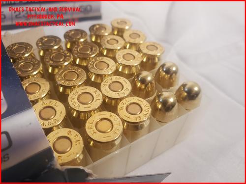 45 ACP FMJ 230gr Fiocchi Ammunition 500 rounds 1/2 Case