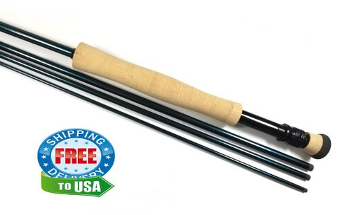 "Saltwater 9'0"" 8wt 4pc Ready-To-Wrap Kit"
