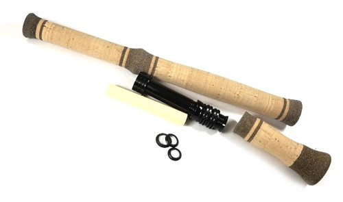 Trout Spey Switch Fly Rod Grip Set w/Deco Rings