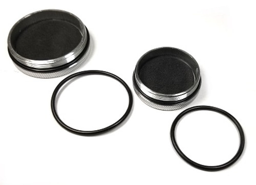 O-Ring Replacement for Aluminum Rod Tube Cap-2 Pack