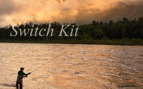 """Switch Fly Rod 'Ready-To-Wrap' Kit 11'0"""" 4wt 4pc"""