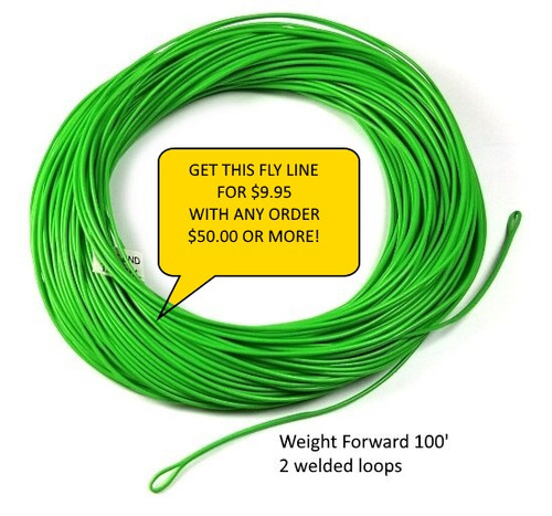 CFRC Weight Forward Freshwater Fly Lines