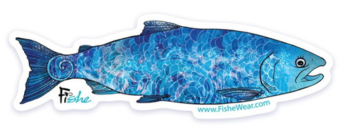 Fishe 'Cosmo Coho' Stickers